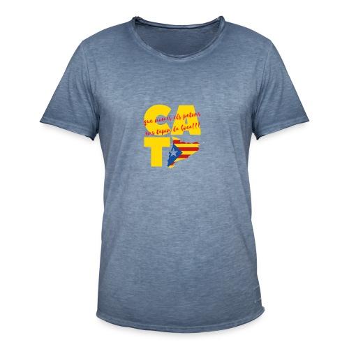 Que nome s els petons ens tapin la boca - Camiseta vintage hombre