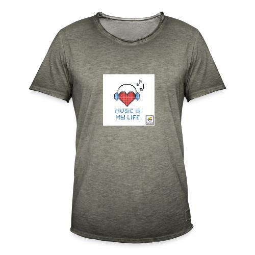 Hoodie - Men's Vintage T-Shirt