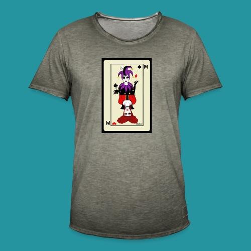 Tazza Jolly di Picche e Regina di Cuori - Maglietta vintage da uomo