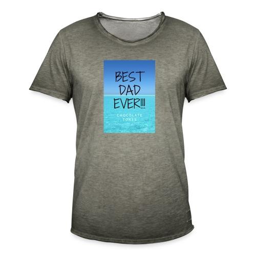 El Mejor papá - Camiseta vintage hombre