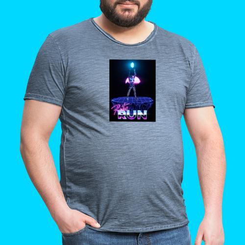 Retro Run merch #2 - Men's Vintage T-Shirt