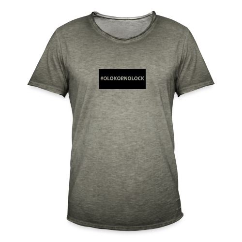 #OLOKORNOLOCK - Vintage-T-shirt herr