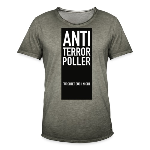 komplettATPoller png - Männer Vintage T-Shirt