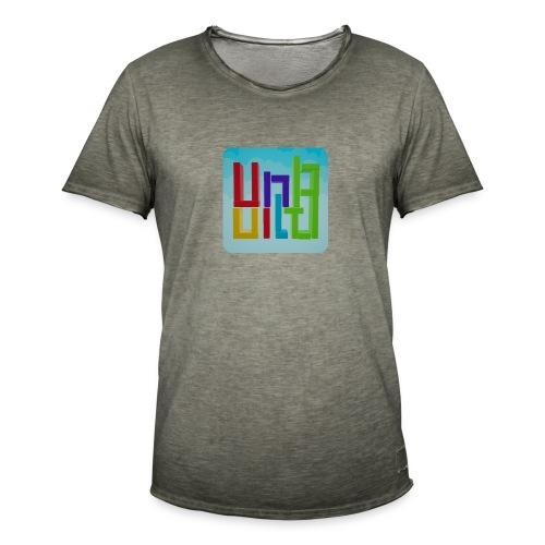 UnBuild App Icon - Männer Vintage T-Shirt