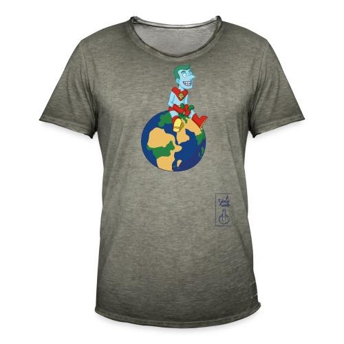 champion de la terre - T-shirt vintage Homme