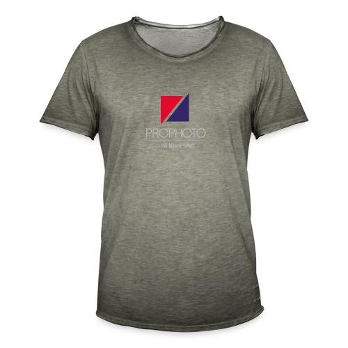 logo trykk pro - Vintage-T-skjorte for menn