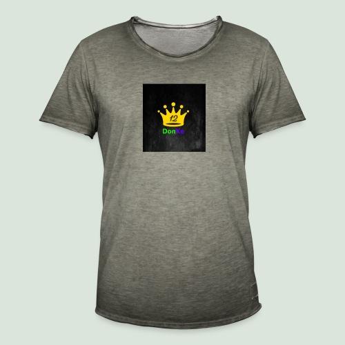 DonKe 12er Fashion - Männer Vintage T-Shirt