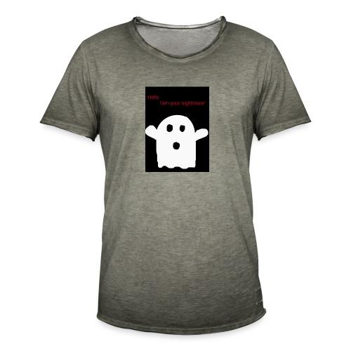 Cute Ghost - Miesten vintage t-paita