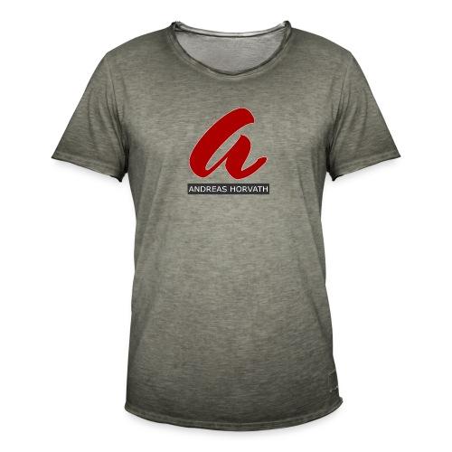 Andreas Horvath Logo - Männer Vintage T-Shirt
