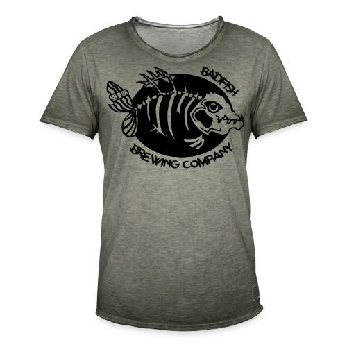 Grand logo devant - T-shirt vintage Homme