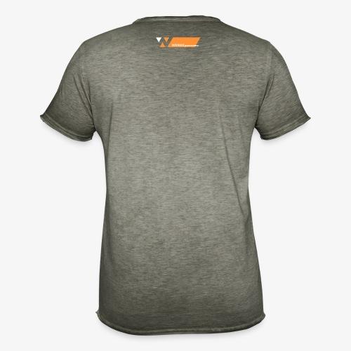 schrift a light 5000x1000 - Männer Vintage T-Shirt