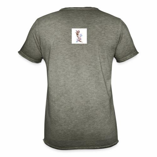 T-shirt con fenice - Maglietta vintage da uomo
