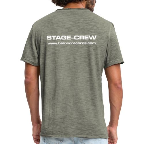 Stage-Crew - Männer Vintage T-Shirt