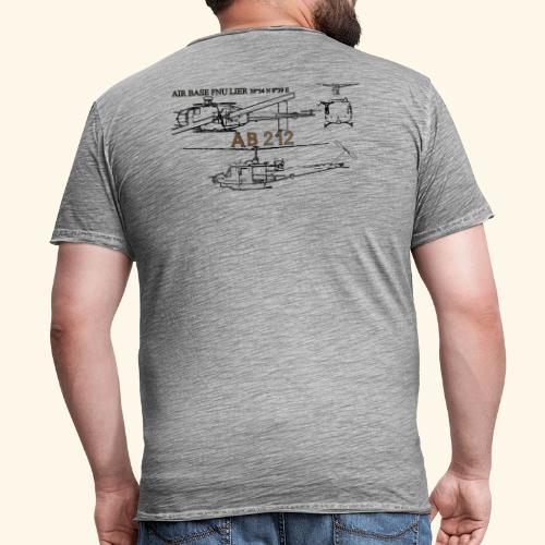 ab212 AIR BASE FENOSU - Maglietta vintage da uomo