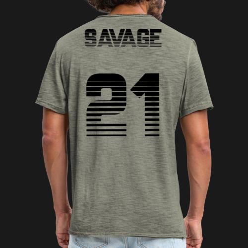 Sauvage - T-shirt vintage Homme