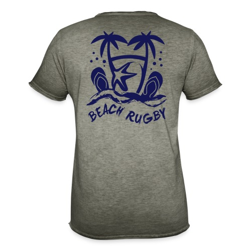 BEACH RUGBY - T-shirt vintage Homme