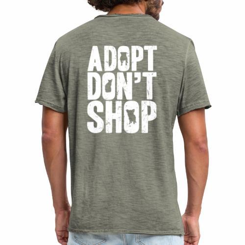 adopt - Mannen Vintage T-shirt