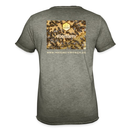 beehappy ikf www - Männer Vintage T-Shirt