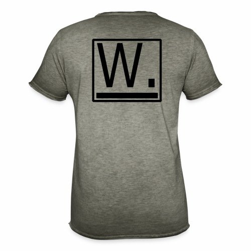 W. - Mannen Vintage T-shirt