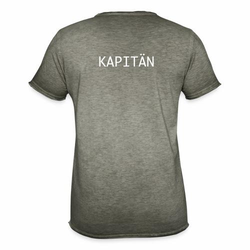 Kapitän Shirt - Männer Vintage T-Shirt