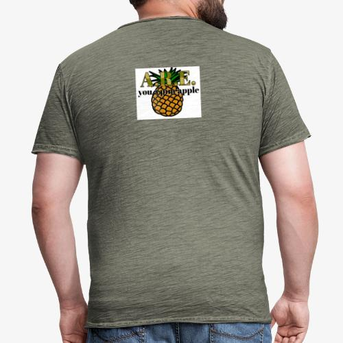 Are you a pineapple - Men's Vintage T-Shirt