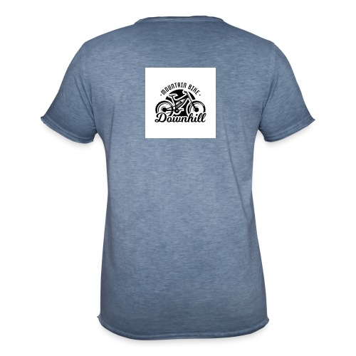 downhill ist leben - Männer Vintage T-Shirt