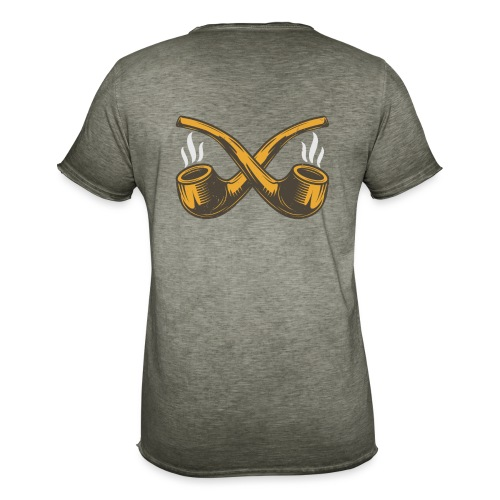 Pipe Design - Men's Vintage T-Shirt
