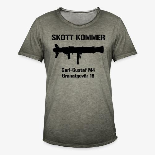 SKOTT KOMMER - KLART BAKÅT - SWE Flag - Vintage-T-shirt herr