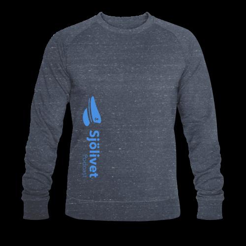 Sjölivet podcast - Svart logotyp - Ekologisk sweatshirt herr från Stanley & Stella