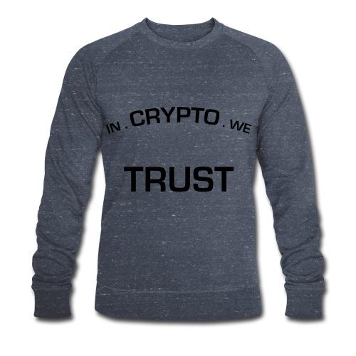 In Crypto we trust - Mannen bio sweatshirt van Stanley & Stella