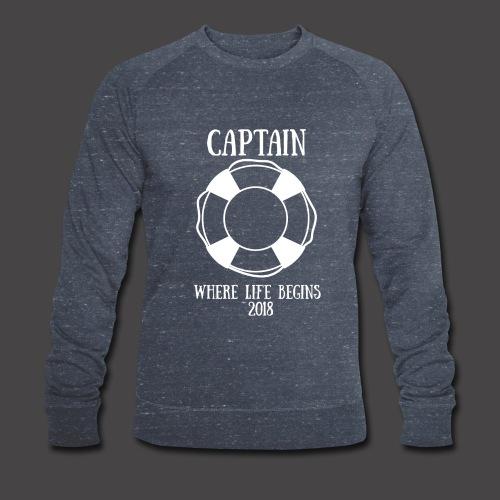The Captain - Männer Bio-Sweatshirt von Stanley & Stella