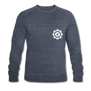 Jebus Adventures Cog White - Men's Organic Sweatshirt by Stanley & Stella