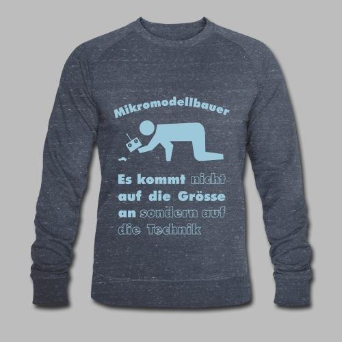Mikromodellbau Weisheit - Männer Bio-Sweatshirt von Stanley & Stella