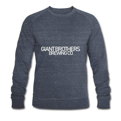 Giant Brothers Brewing co white - Ekologisk sweatshirt herr från Stanley & Stella