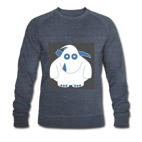 Pinky Monster - Men's Organic Sweatshirt by Stanley & Stella