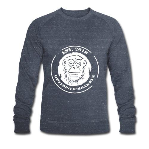 Caps Logo Opti Monki White Edition - Männer Bio-Sweatshirt von Stanley & Stella