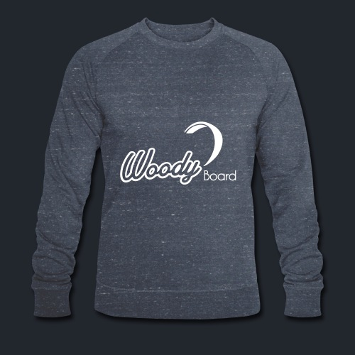 Logo Woodyboard Blanc - Sweat-shirt bio Stanley & Stella Homme
