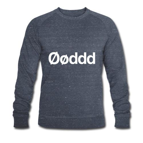 Øøddd (hvid skrift) - Økologisk Stanley & Stella sweatshirt til herrer