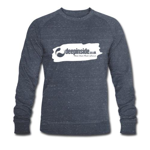 deepinside world reference marker logo white - Sweat-shirt bio Stanley & Stella Homme