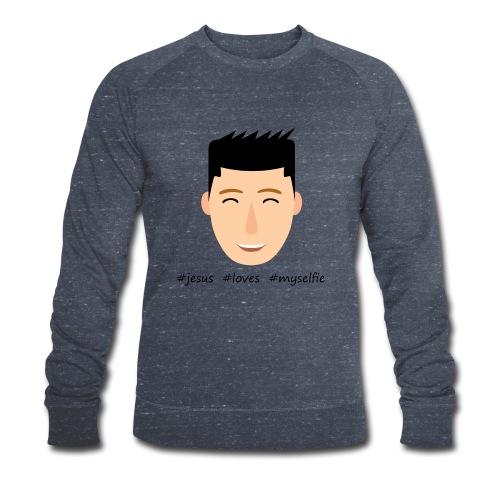 jesus loves myselfie - Männer Bio-Sweatshirt von Stanley & Stella