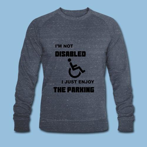 notdisabled1 - Mannen bio sweatshirt van Stanley & Stella