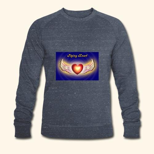 Flying Heart - Männer Bio-Sweatshirt von Stanley & Stella
