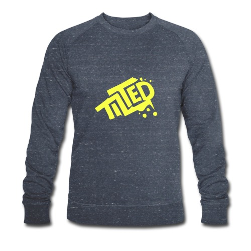 Fortnite Tilted (Yellow Logo) - Men's Organic Sweatshirt by Stanley & Stella