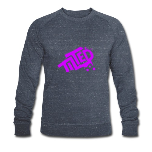 Fortnite Tilted (Pink Logo) - Men's Organic Sweatshirt by Stanley & Stella