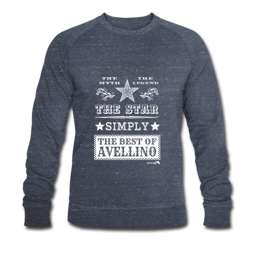 1,03 The Star Legend Avellino Bianco - Felpa ecologica da uomo di Stanley & Stella
