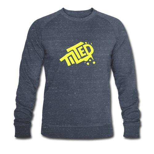 Fortnite Tilted (Yellow Logo) - Men's Organic Sweatshirt by Stanley & Stella