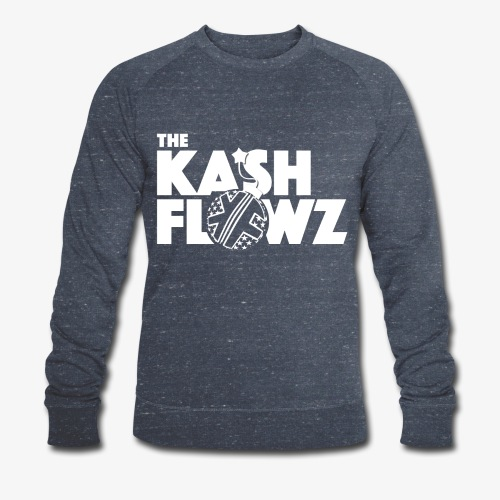 The Kash Flowz Official Bomb White - Sweat-shirt bio Stanley & Stella Homme