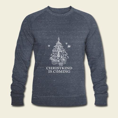 Christkind neu weiss - Männer Bio-Sweatshirt von Stanley & Stella