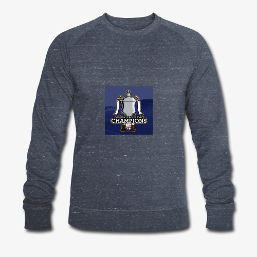 MFC Champions 2017/18 - Men's Organic Sweatshirt by Stanley & Stella