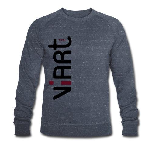 ViArt asbl Logo - Männer Bio-Sweatshirt